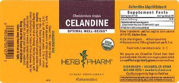 Herb Pharm Celandine - herbal supplement