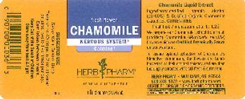 Herb Pharm Chamomile - herbal supplement