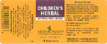 Herb Pharm Children's Herbal - herbal supplement