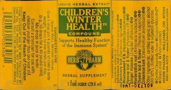 Herb Pharm Children's Winter Health Compound - herbal supplement