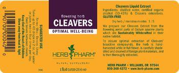 Herb Pharm Cleavers - herbal supplement