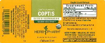Herb Pharm Coptis - herbal supplement