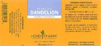 Herb Pharm Dandelion - herbal supplement
