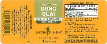 Herb Pharm Dong Quai - herbal supplement