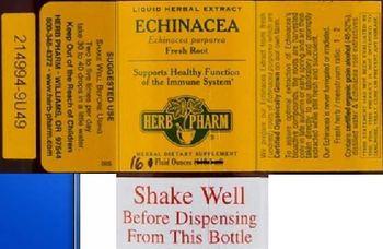 Herb Pharm Echinacea - herbal supplement
