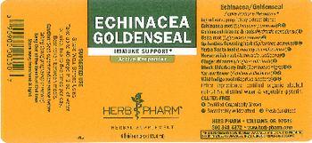 Herb Pharm Echinacea Goldenseal - herbal supplement