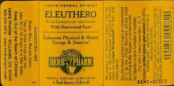 Herb Pharm Eleuthero - herbal supplement