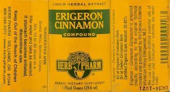 Herb Pharm Erigeron Cinnamon Compound - herbal supplement