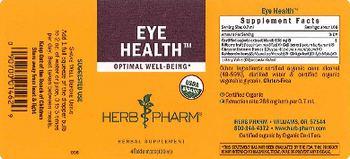 Herb Pharm Eye Health - herbal supplement