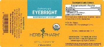 Herb Pharm Eyebright - herbal supplement