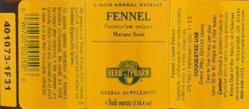 Herb Pharm Fennel - herbal supplement