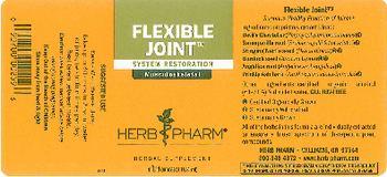 Herb Pharm Flexible Joint - herbal supplement