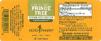 Herb Pharm Fringe Tree - herbal supplement