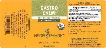 Herb Pharm Gastro Calm - herbal supplement