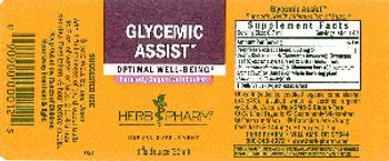 Herb Pharm Glycemic Assist - herbal supplement