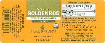 Herb Pharm Goldenrod - herbal supplement