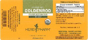 Herb Pharm Goldenrod - herbal supplement