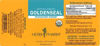 Herb Pharm Goldenseal - herbal supplement