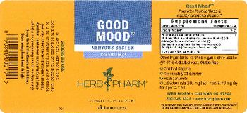 Herb Pharm Good Mood - herbal supplement