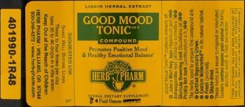 Herb Pharm Good Mood Tonic Compound - herbal supplement