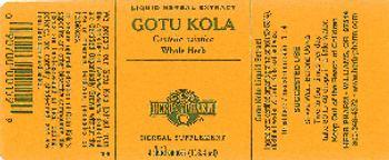 Herb Pharm Gotu Kola - herbal supplement