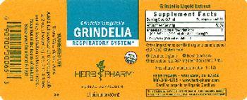 Herb Pharm Grindelia - herbal supplement