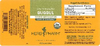Herb Pharm Guggul - herbal supplement