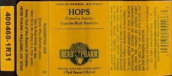 Herb Pharm Hops - herbal supplement