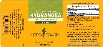 Herb Pharm Hydrangea - herbal supplement