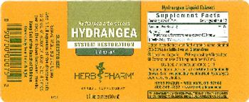 Herb Pharm Hydrangea - herbal supplement