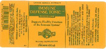 Herb Pharm Immune Defense Tonic Compound - herbal supplement