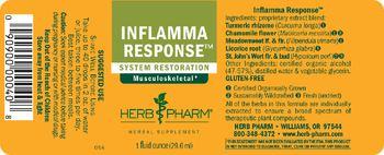 Herb Pharm Inflamma Response - herbal supplement