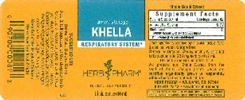 Herb Pharm Khella - herbal supplement