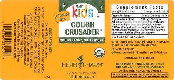 Herb Pharm Kids Cough Crusader - herbal supplement
