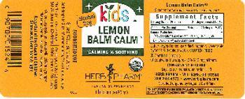 Herb Pharm Kids Lemon Balm Calm - herbal supplement
