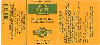 Herb Pharm Liver Health Compound - herbal supplement