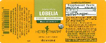 Herb Pharm Lobelia - herbal supplement