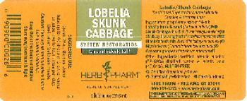 Herb Pharm Lobelia Skunk Cabbage - herbal supplement