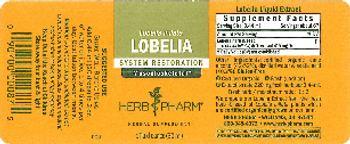 Herb Pharm Lobelia - herbal supplement