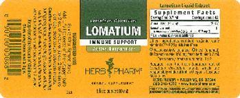 Herb Pharm Lomatium - herbal supplement