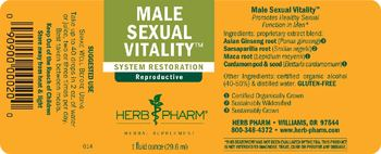 Herb Pharm Male Sexual Vitality - herbal supplement