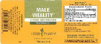 Herb Pharm Male Vitality - herbal supplement