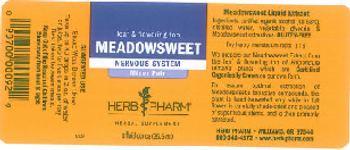 Herb Pharm Meadowsweet - herbal supplement