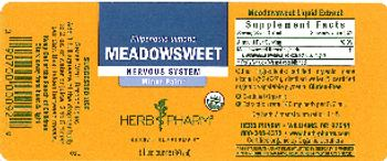 Herb Pharm Meadowsweet - herbal supplement