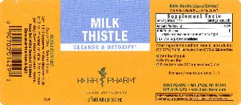 Herb Pharm Milk Thistle - herbal supplement