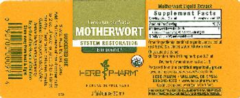 Herb Pharm Motherwort - herbal supplement