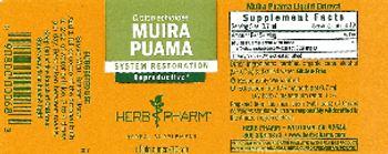 Herb Pharm Muira Puama - herbal supplement