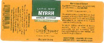 Herb Pharm Myrrh - herbal supplement