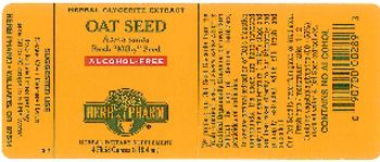 Herb Pharm Oat Seed - herbal supplement