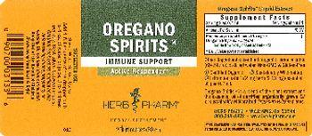 Herb Pharm Oregano Spirits - herbal supplement